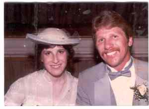 Anne and Ken Haugh (married June 18, 1983)