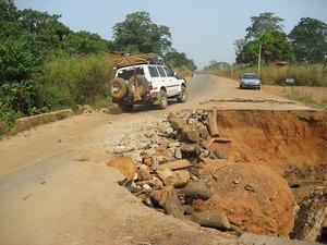 Nigerian pothole!