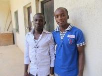 Language Farmers Ajinka and Isaac