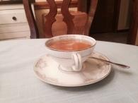 Yummy green tea!