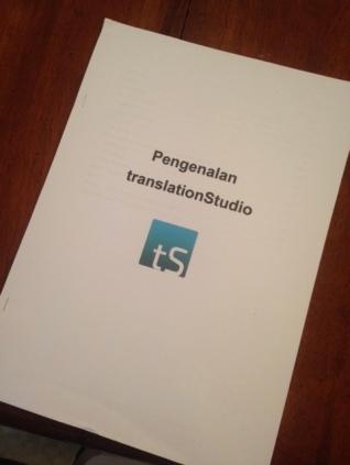 Introduction to translationStudio
